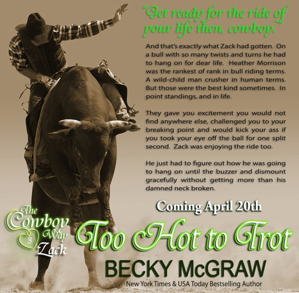 Teaser from Too Hot To Tor (c) Becky McGraw 2015
